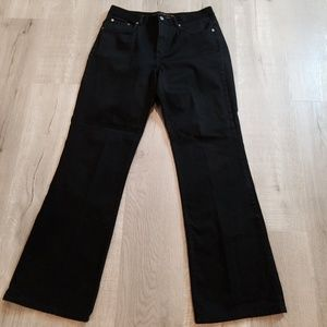 Ralph Lauren HIGH WAIST mom boot cut jeans 12